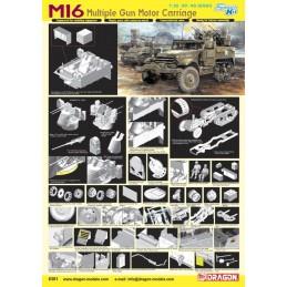 DRAGON 6381 - M16 Multiple...