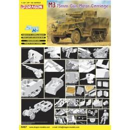 DRAGON 6467 - M3 75mm Gun...
